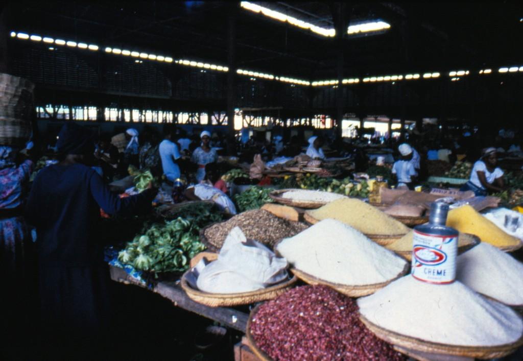 mercato coperto di Haiti