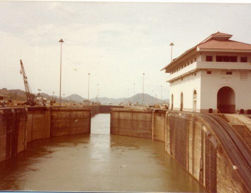 Panama canal : immagini della traversata a bordo del Fairwind