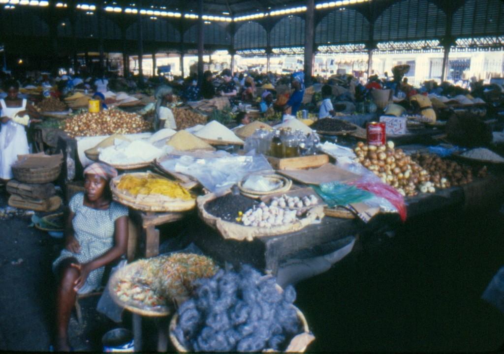 Haiti:il mercato coperto