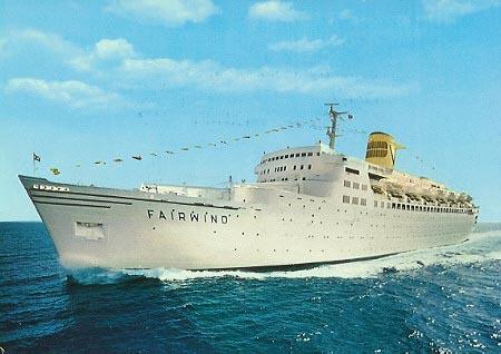 the Sitmar Experience: la nave da crociera Fairwind