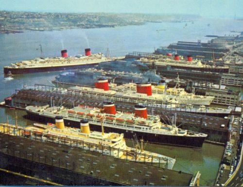 Sitmar Cruises : immagini storiche (video)