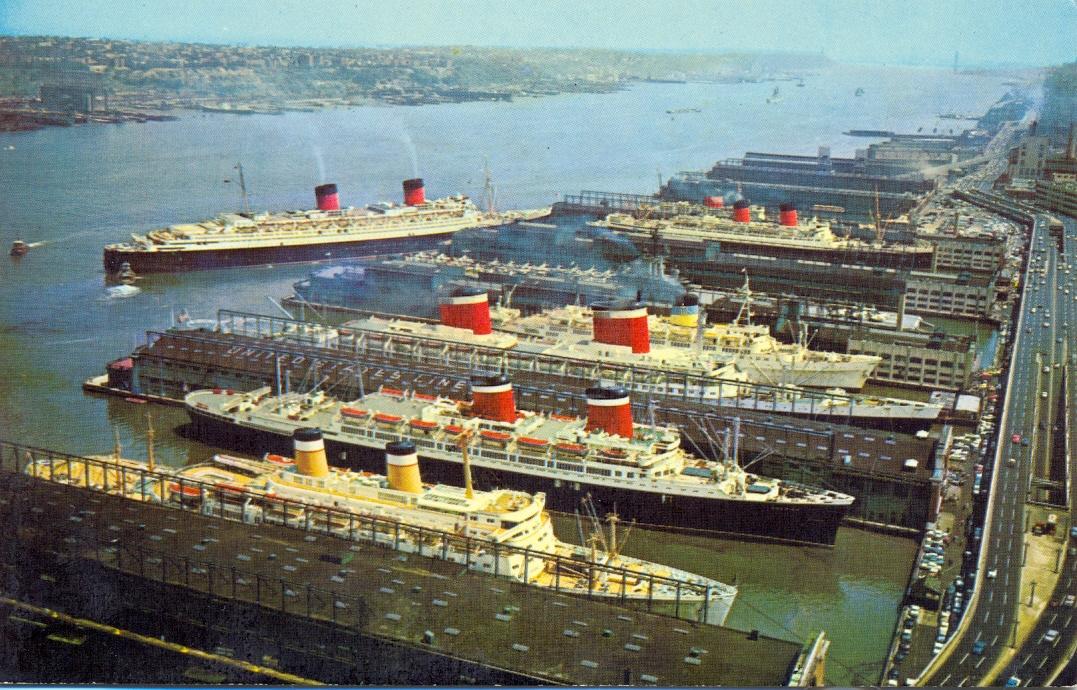 La nave da crociera Sylvania della Sitmar Cruises