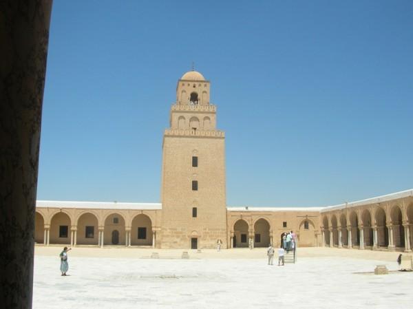 Tunisia, moschea di Kairuan