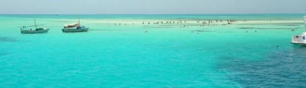 sharm el sheik isole di sabbia