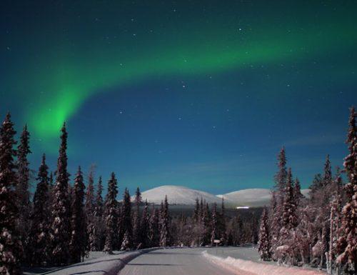 La magia dell'inverno artico nella Lapponia finlandese